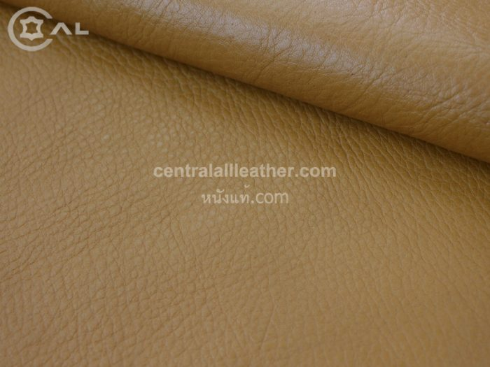 Cow Milled Grain Vegetable Tanned Leather